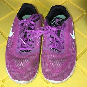 Kids Purple/Turquoise Nike Shoes